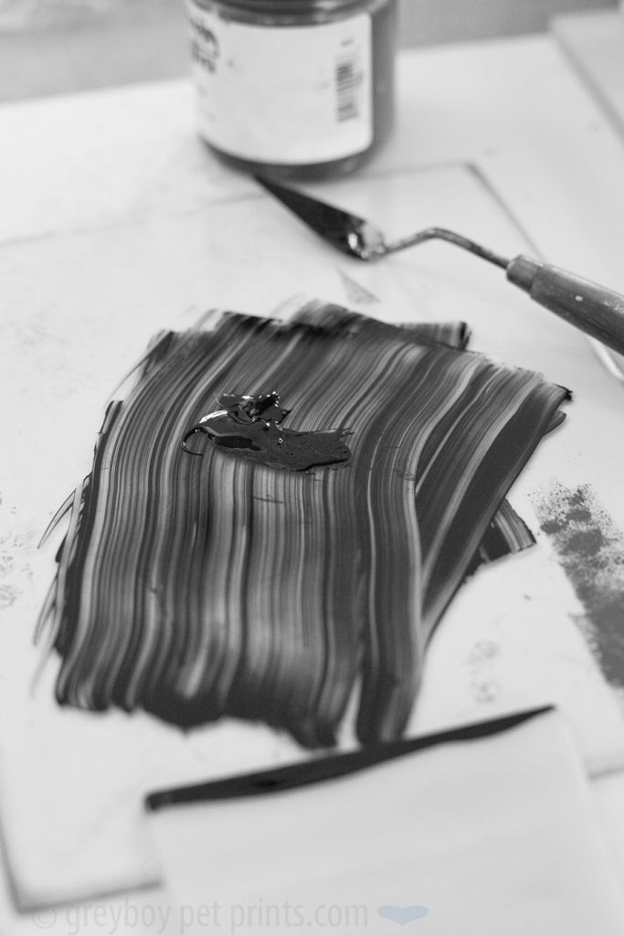 rolling ink