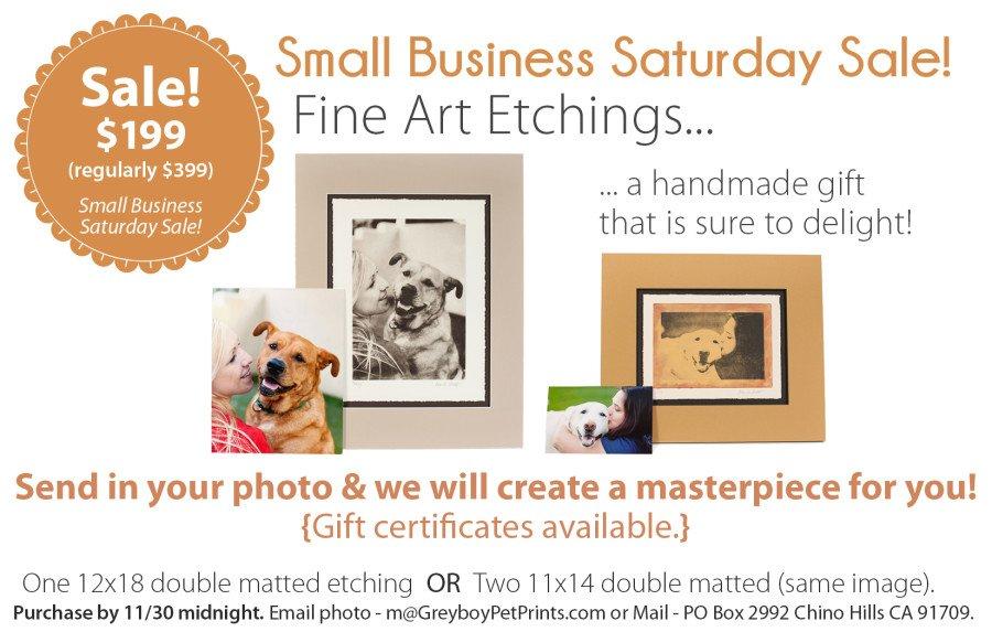 Etching-SmallBusinessSaturdaySale-promo