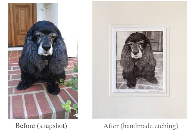 Custom Pet Portrait for Father's Day Gift