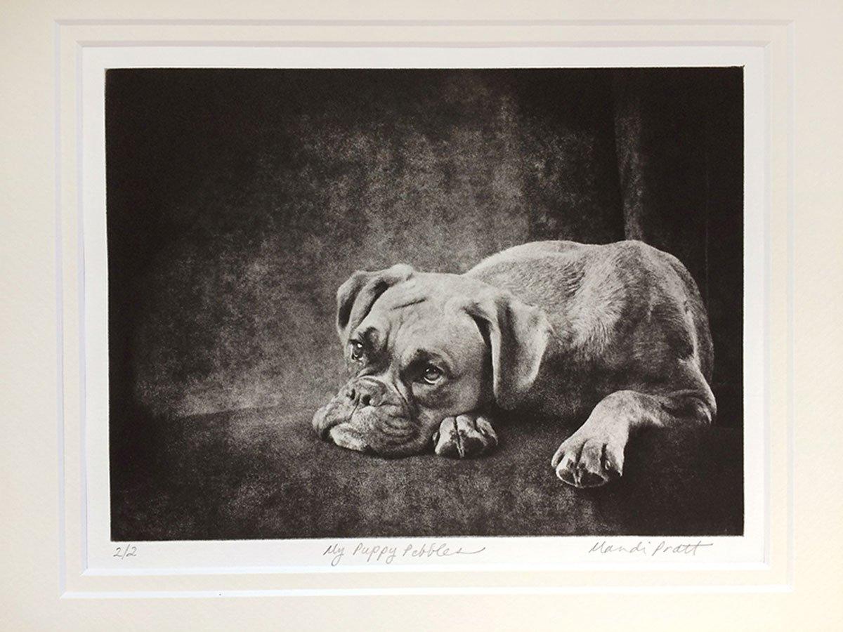 Custom Dog Portrait Keepsake