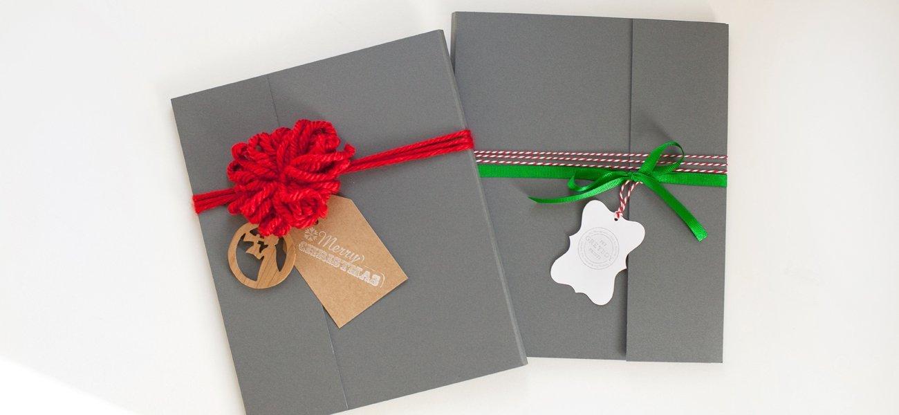 Pet-Portrait-Gray-Giftwrap-Red-Ribbon-Christmas