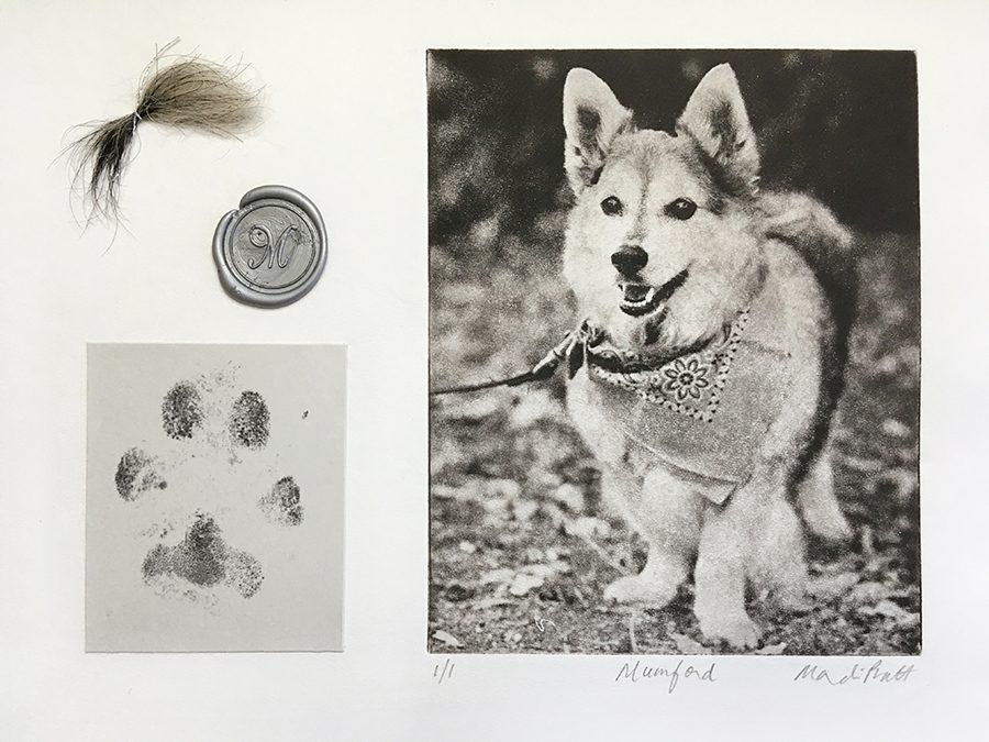 Custom Dog Memorial Art