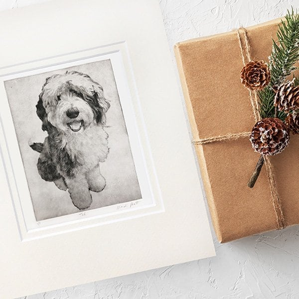 Custom Pet Portrait Gifts