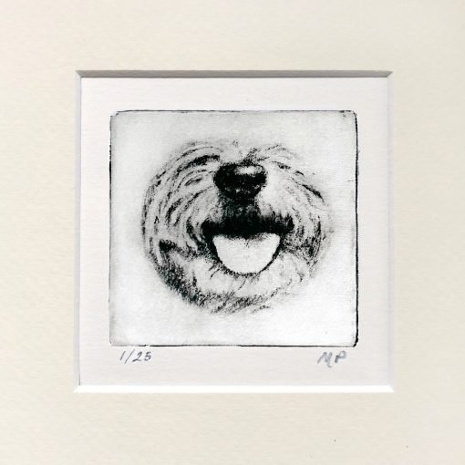 Terrier dog art