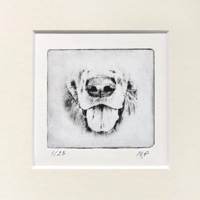 Dog Art Retriever