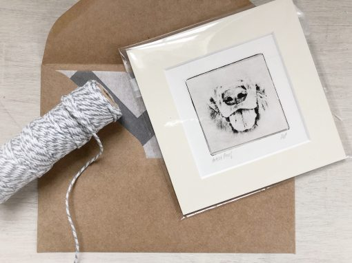 Pet Art Small Gift Wrapped