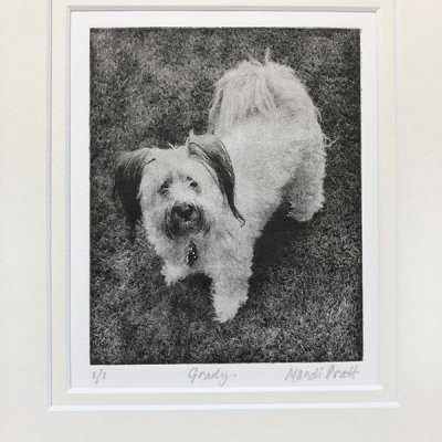 Custom Pet Art Etching