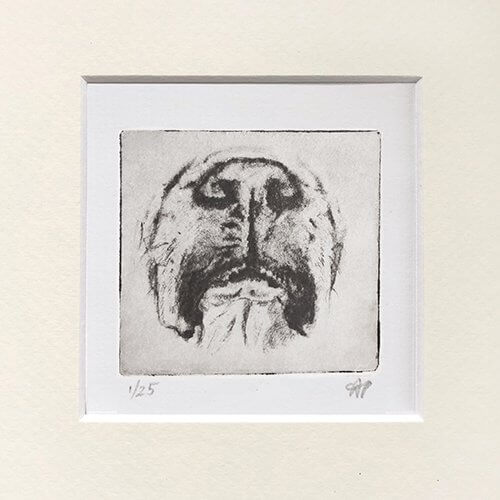 Boxer Dog Art Cute Face