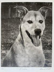 Dog Portrait Gift of Simba