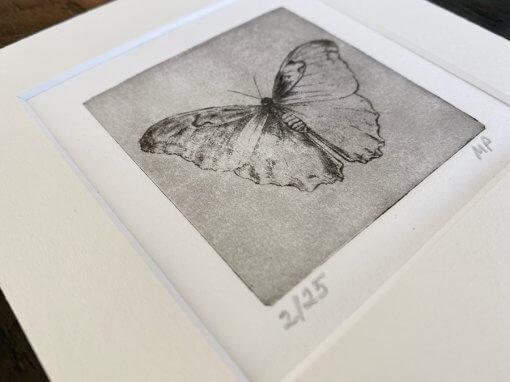 Butterfly Small Art Detail